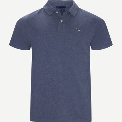 The original Pique SS Rugger Polo T-shirt Regular | The original Pique SS Rugger Polo T-shirt | Denim